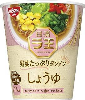 日清 ラ王 野菜たっぷりタンメン しょうゆ 57g ×12個