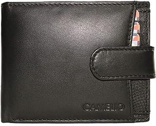 Camelio Black Men's Wallet (CAM-BL-056)