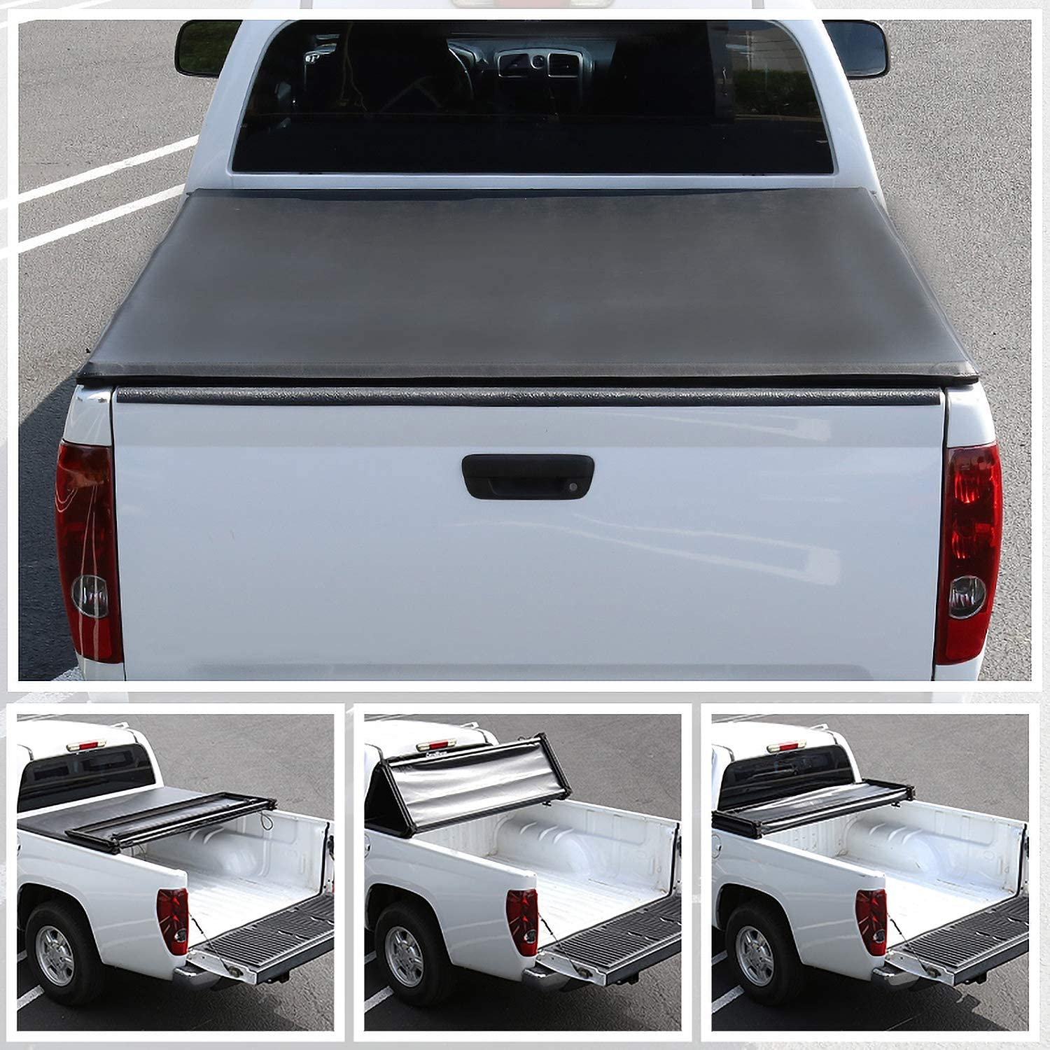 Spec-D Tuning 5.8' Short Bed Cover PickupTonneau C for 2004-2007 Spring Max 42% OFF new work one after another