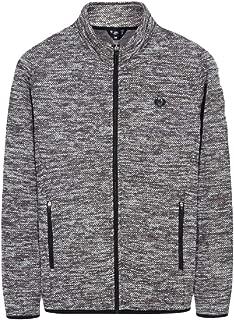 Men Casual Full Zip Jacket Sport Sweatshirt Stand Collar Coat Outwear