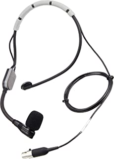 Shure SM35-XLR Performance Headset Condenser Microphone with Snap-fit Windscreen and Inline XLR Preamp
