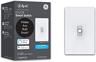 C by GE 3-Wire On/Off Toggle Style Smart Switch, Alexa...