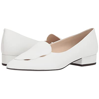 Cole Haan G.OS Leah Skimmer (White Leather) Women