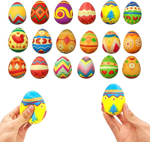new arrival Fidget Toys Sensory Stress Relief Easter Egg popular Toys for Children Adults Teens Kids,Decompression Squeeze Rebound Anxiety Reliever Stress Toys Anti-Stress Calming Gift lowest for Kids and Adults, 18 Packs outlet sale