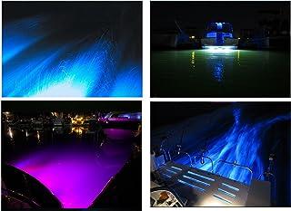 9* 3= 27W LED multicolor RGB auto-running barco tapón de drenaje luz sumergible IP68