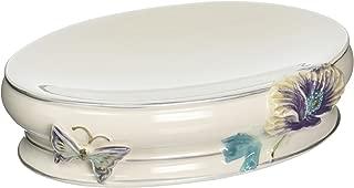 Creative Bath Garden Gate Ceramic Soap Dish, Lilac