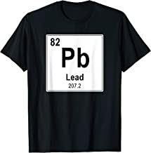 Heavy Metal Rock Band Lead Pb Periodic Table Of Element T-Shirt