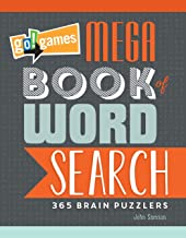 Go!games Mega Book Of Word Search: 365 Brain Puzzlers