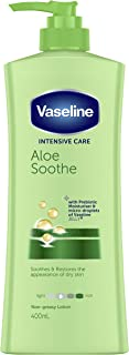 Vaseline Intensive Care Body Lotion Aloe Soothe, 400ml