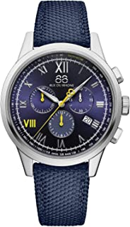88 Rue du Rhone - Swiss Quartz Rive Collection Reloj para hombre 87WA184302 esfera azul