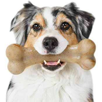 Pet Supplies : Pet Qwerks BBQ Flavor Infused BarkBone - Durable Toys for  Aggressive Chewers, Tough Indestructible Extreme Power Chewer Bones | Made  in USA - for Large & Medium Dogs (BBB3) : Amazon.com