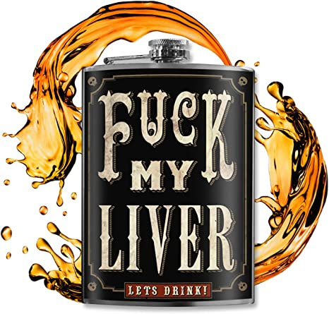 """These Hilarious """"F*ck"""" My Liver Flasks"""