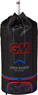 GM Cricket Premier Duffle 2019 Bag, Black/Red/Blue, Standard