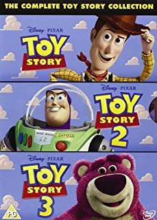 The Complete Toy Story Collection: Toy Story / Toy Story 2 / Toy Story 3 Region2 will NOT play on regular US player