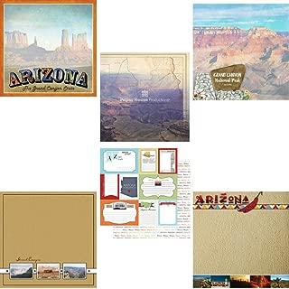 Custom Bundle Set of 6 Arizona Grand Canyon Themed Travel and Vacation 12