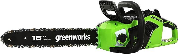 Greenworks Tools Battery Chainsaw GD40CS18 (Li-Ion 40 V 20 m/s Chain Speed 1.8 kW Power 40 cm Sword Length 180 ml Oil Tank...