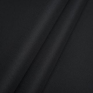 Pure Textilien Polyester Oxford 600D 1lfm - Wasserdicht, Outdoor Stoff, Segeltuch, Abdeckplane Schwarz