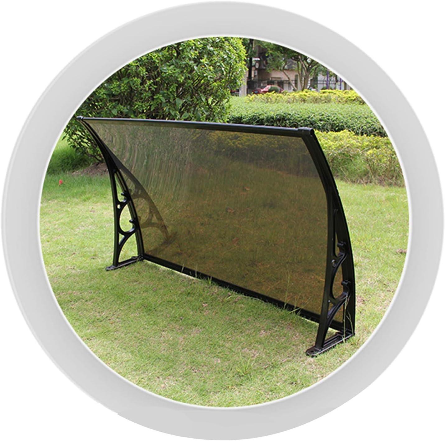 JIANFEI Roofing Canopies, Transparent Polycarbonate Door Canopy