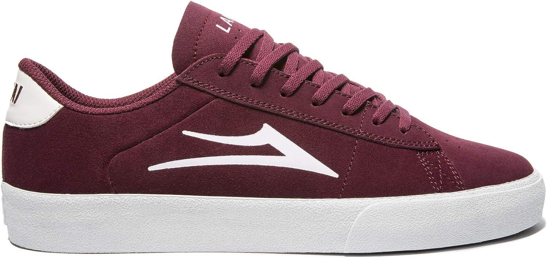 Lakai Unisex's Footwear Summer 2019 Newport Burgundy Suede Size 10 Tennis shoes, M US