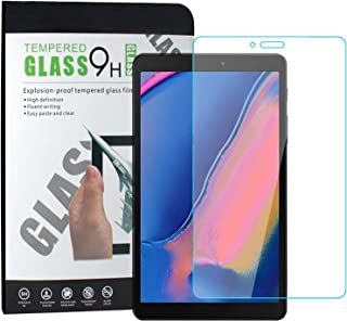 TERSELY Screen Protector Glass for Samsung Galaxy Tab A 8.0 T290 T295, Premium 9H Hardness HD Tempered-Glass Film Screen P...