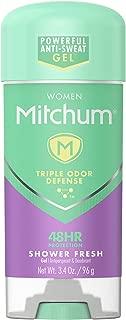 Mitchum Women Gel Antiperspirant Deodorant, Shower Fresh, 3.4oz.