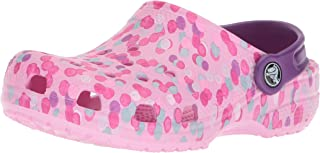 Crocs Kid's Classic Graphic Clog   Slip On Water Shoe for Toddlers, Boys, Girls   Lightweight
