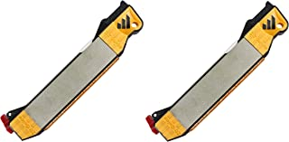 Work Sharp Guided Field Sharpener - Sharpening Guides, Diamond Plate, Ceramic Rod, Leather strop, 2 Pack