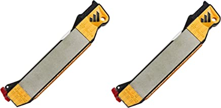 Work Sharp Guided Field Sharpener - Sharpening Guides, Diamond Plate, Ceramic Rod, Leather strop, 2 Pack