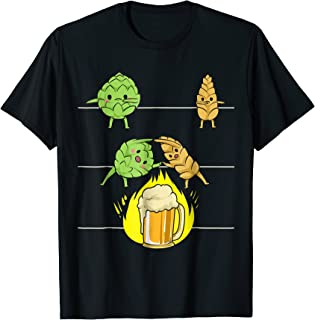 Funny Beer Fusion T-Shirt I Perfect Alcohol Drinkers Wear