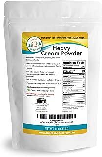 Heavy Cream Powder(11 oz): GMO and Preservative Free: Produced in the USA: Keto Friendly, Add Healthy Fat to Coffee