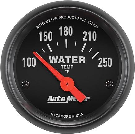 Gauges Auto Meter 7537 Phantom II 2-1/16 100-250 F Short Sweep Electric Water Temperature Gauge