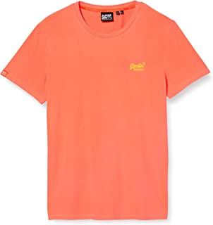 Superdry OL Neon Lite tee Camiseta para Hombre
