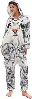 Adult Animal Onesie Costume Plush One-Piece Cartoon Cosplay Pajamas