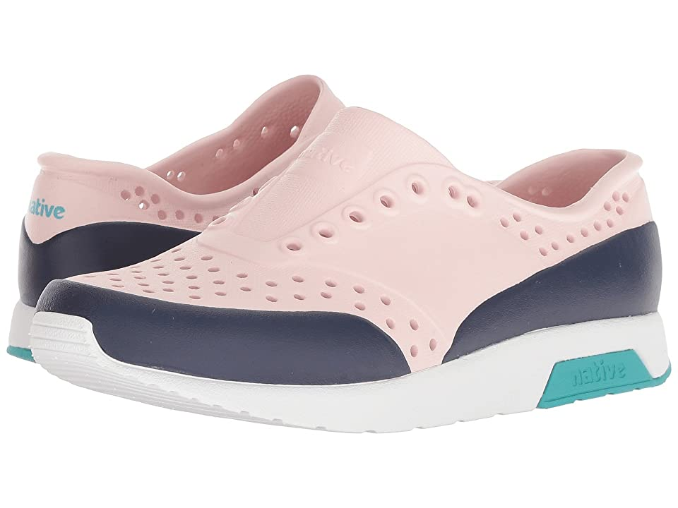 Native Kids Shoes Lennox Block (Little Kid) (Cold Pink/Shell White/Glacier Green/Regatta Blue) Girls Shoes