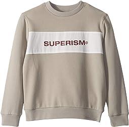 Pullover Kayden Jumper with Superism Logo (Toddler/Little Kids/Big Kids)