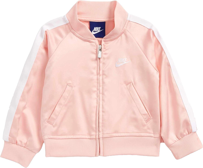 Nike Girls Satin Track Jacket Full Zip Kids Sizes
