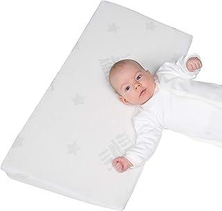 Roba kilkudde safe asleep 'Air', L x B x H: 60 x 35 x 8,5 cm, med jacquardöverdrag, hålad madrasskärna
