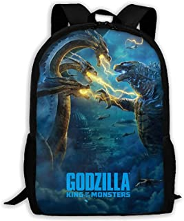 Godzilla vs. King Kong rugzak, casual jongensrugzak, schooltas, vakantietas, koel/waterdicht