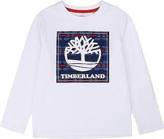 Timberland Camiseta de algodón orgánico NIÑO Blanco 16AÑOS