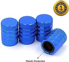 anodized blue wheels