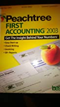 Peachtree First Accounting 2003