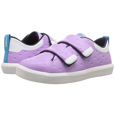 Native Kids Shoes Monaco HL CT (Little Kid) (Lavender Purple CT/Shell White) Girls Shoes