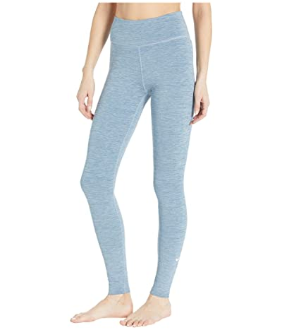Nike One Tights (Valerian Blue/Heather/White) Women