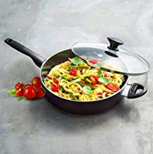 GreenPan Jumbo 5 Qt / 4.7 L Saute Pan With Lid Helper Handle Item/Art. 1332355
