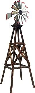 Leigh Country TX 93485 9' Char-Log Windmill