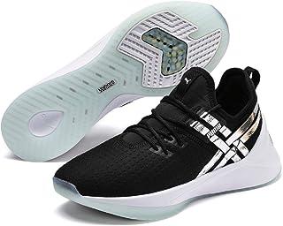 PUMA Women's Jaab XT TZ Training Shoes, Puma Black-Aqua, 7 US