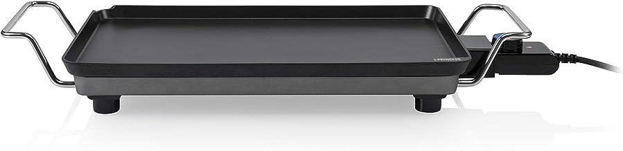 Plancha Princess Chef Pro Cla) ssic zwart – gegoten aluminium – 4 personen – 46 x 26 cm – 2000 W