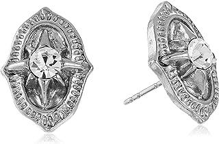 Crystal Vintage Inspired Post Stud Earrings
