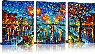 impressionist umbrella painting