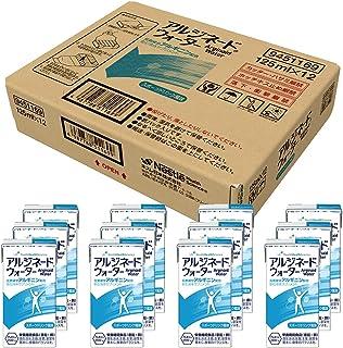 Nestle(ネスレ) アルジネードウォーター スポーツドリンク風味 (125ml×12本セット) 飲む液体サプリメント (アルギニン 2,500mg / 亜鉛 10mg / 銅 1.0mg) ドリンク 介護食 栄養補助食品